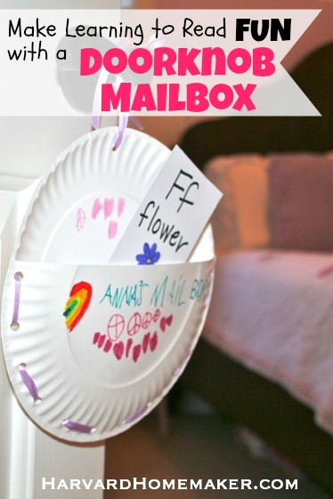 Doorknob Mailboxes_Make Learning to Read Fun