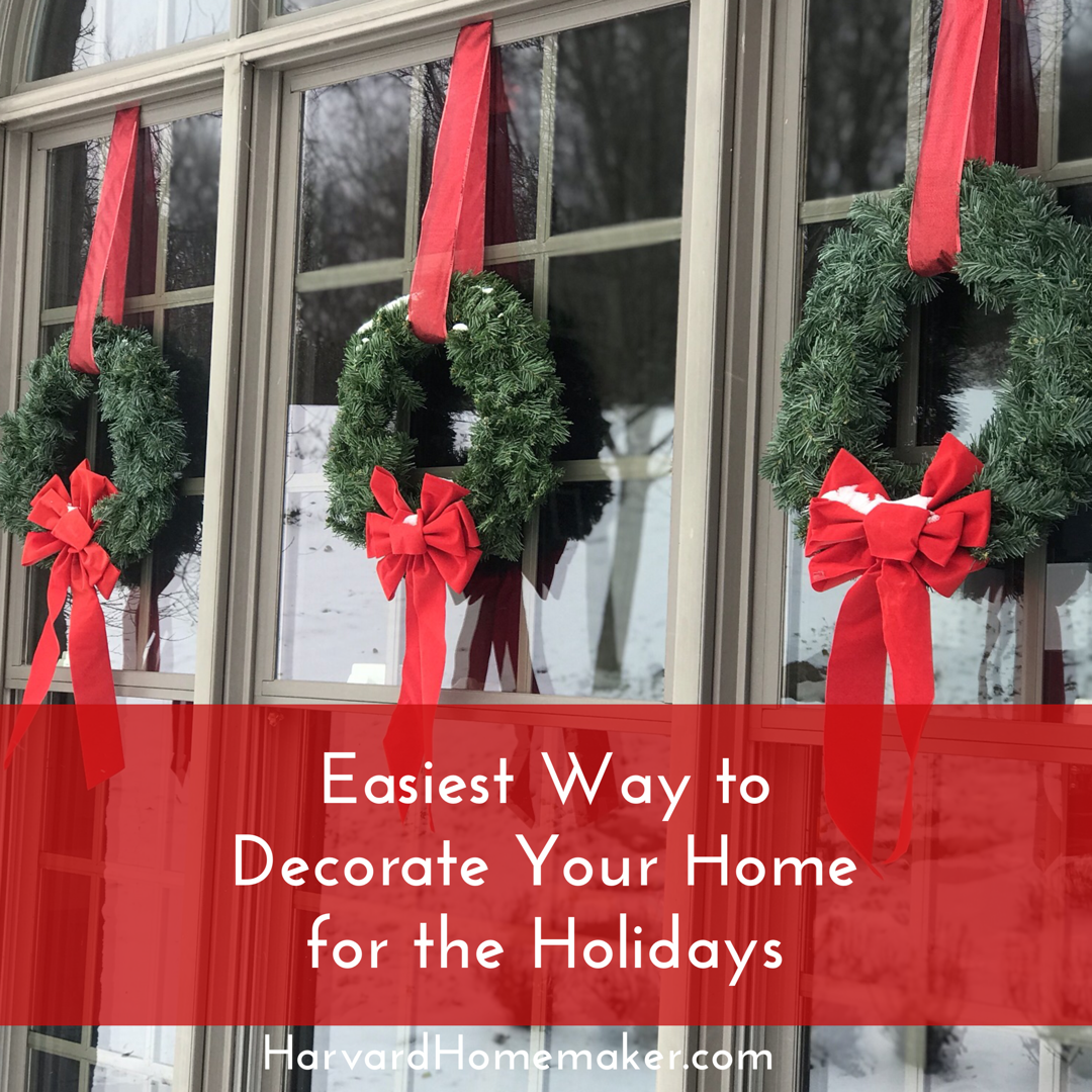 Easiest Way to Decorate Your Home for Christmas