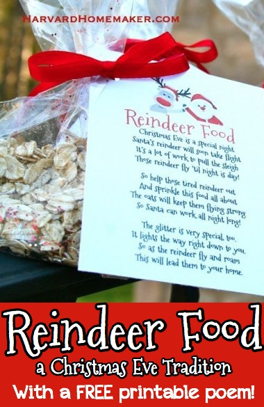 photograph regarding Reindeer Food Poem Printable known as Reindeer Food stuff: Fantastic Cl Job or Occasion Desire