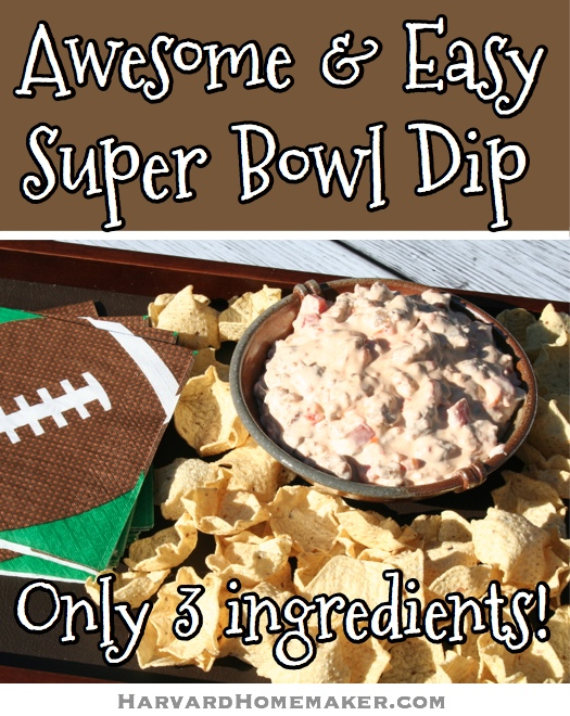 Awesome and Easy Super Bowl Dip_Only 3 Ingredients!
