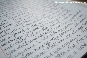 Neat Handwriting