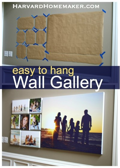 Decorate With Family Photos And Hang A Wall Gallery Ease