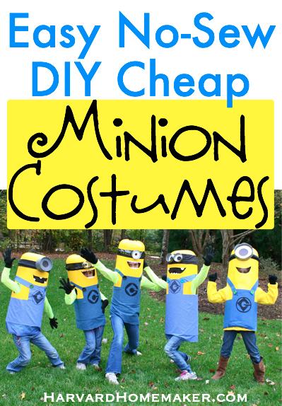 No-Sew DIY Minions Mascot | DIY Minions Costume Ideas You Have to Check Out | DIY Minions Costume | minion costume diy