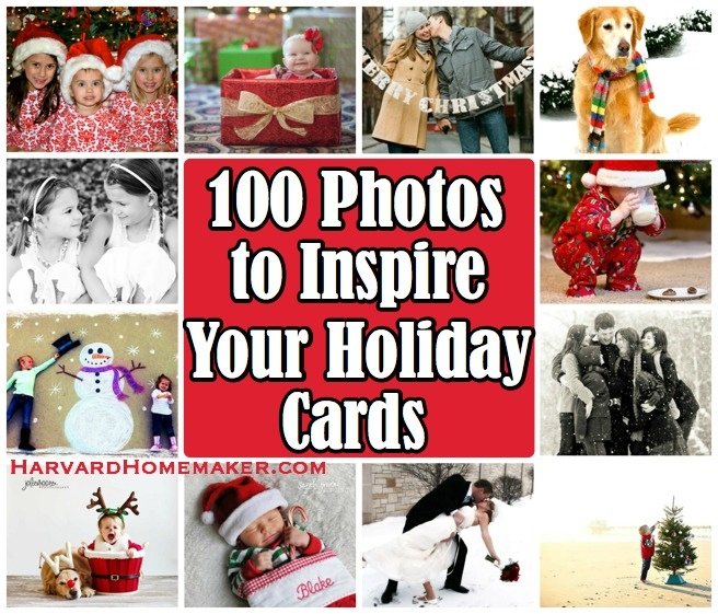 100 Photos to Inspire Your Holiday Cards by Harvard Homemaker