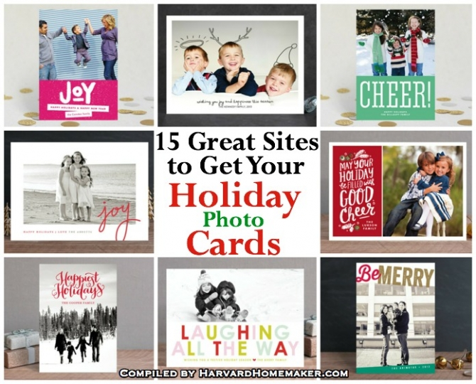 15 Great Sites to Get Your Holiday Cards