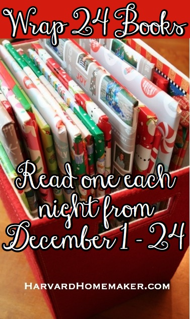 Wrap 24 Books and Read Each Night in December