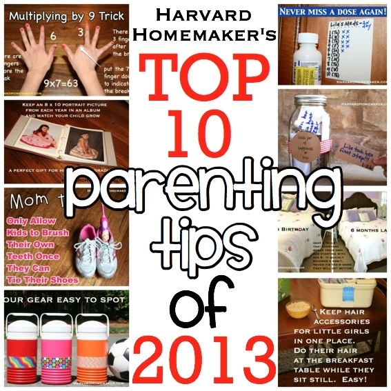Best Parenting Tips of 2013