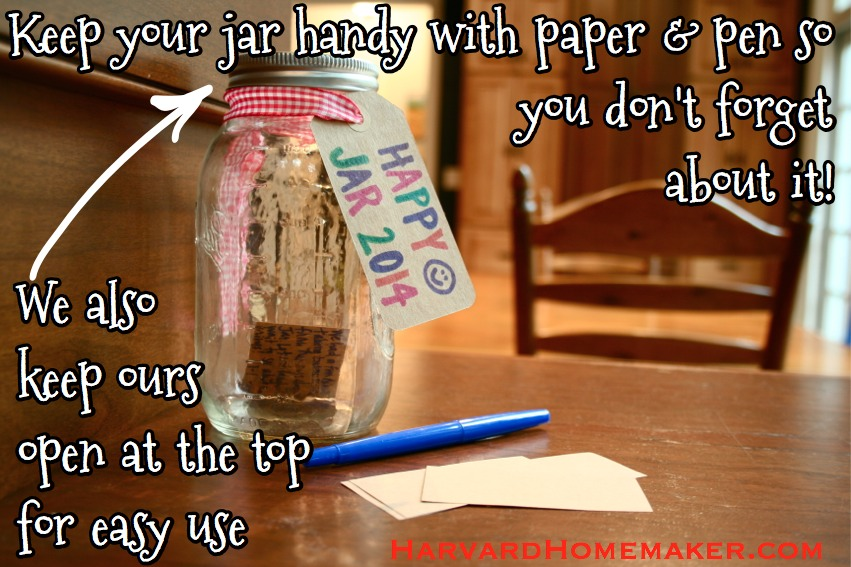 Happy Jar keep handy