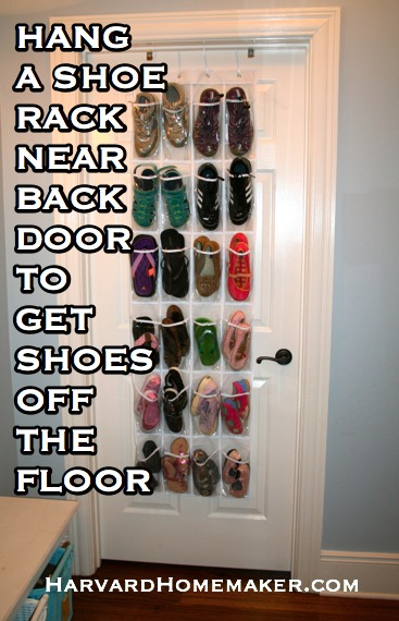 Shoe Rack Near Back Door