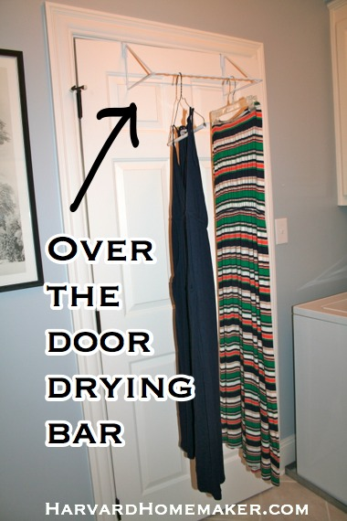 over the door drying bar