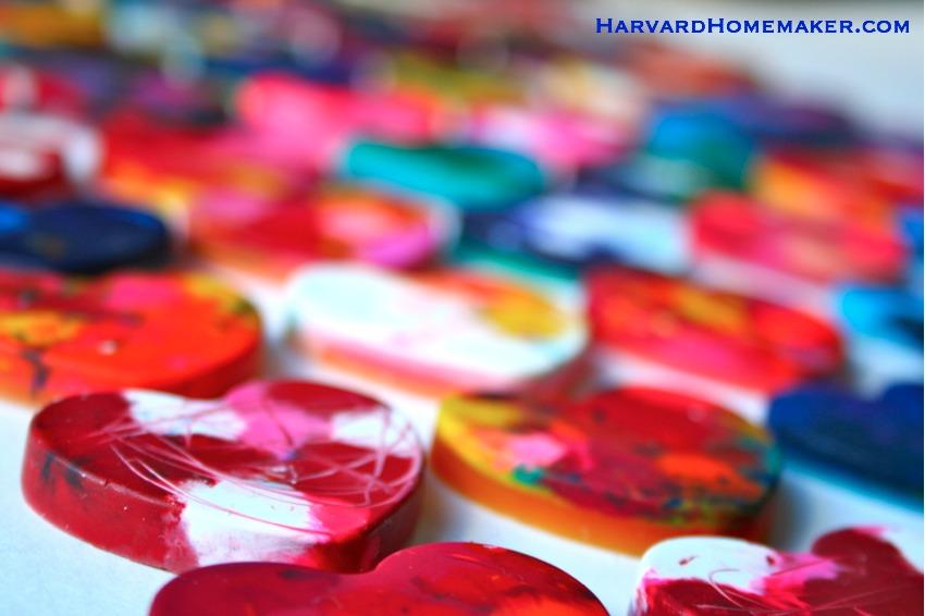 Melted Crayon Hearts_Close Up