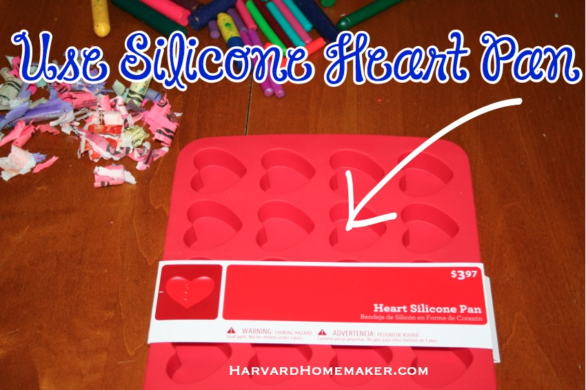 Melted Crayon Hearts_Silicone Pan