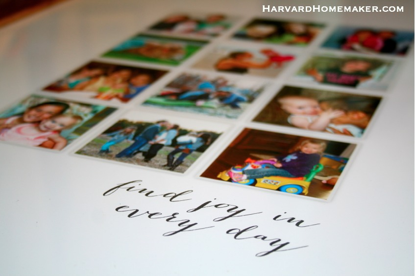 Find Joy in Every Day Custom Collage - There are Memories Being Made All Around You! - Harvard Homemaker