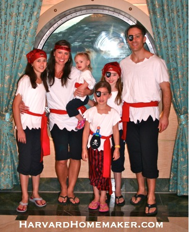 A moms guide 15 things to pack for a disney cruise other travel disney cruise pirate costumes for the family solutioingenieria Choice Image