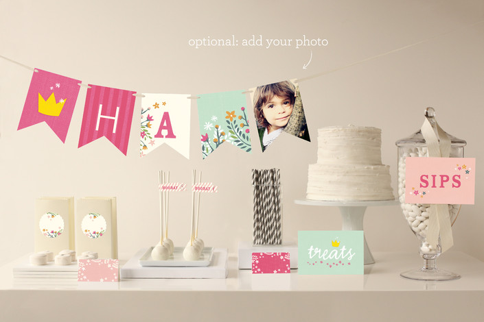 Minted Giveaway_Party Decor_Princess