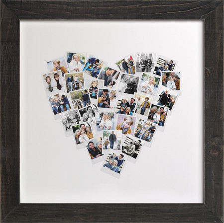 Snapshot Heart Collage Art