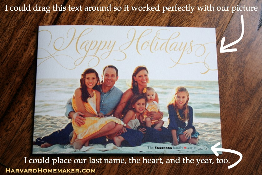 Minted giveaway_our card family on the beach