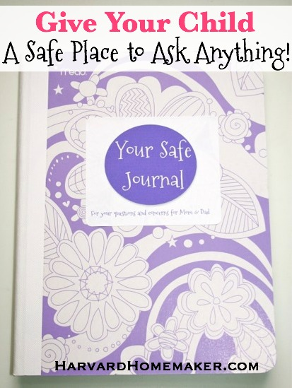 Safe Journal_A Place Your Child Can Ask You Anything