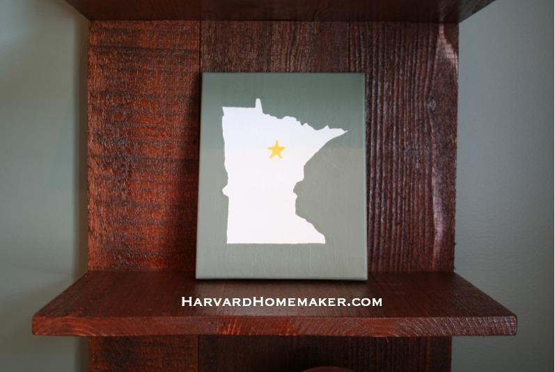 State Canvas_I Love Minnesota