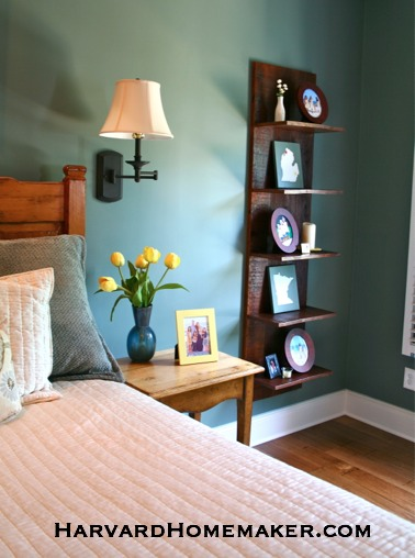 State Canvas_On shelf in bedroom