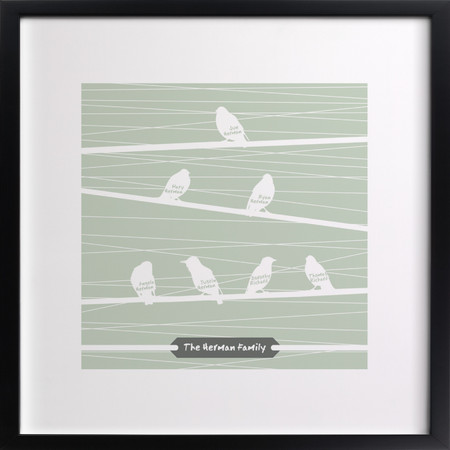 Gifts for Her_Birds of a Feather Flock Together Print