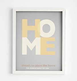 Gifts for Her_No Place Like Home Art