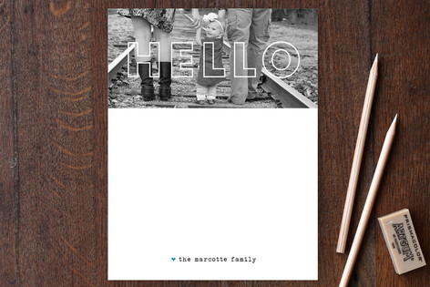 Gifts for Her_Personalized Photo Stationery