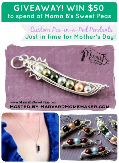 Giveaway_Mama B's Sweet Peas