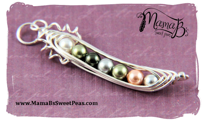 Sweet Peas_Single Pendant