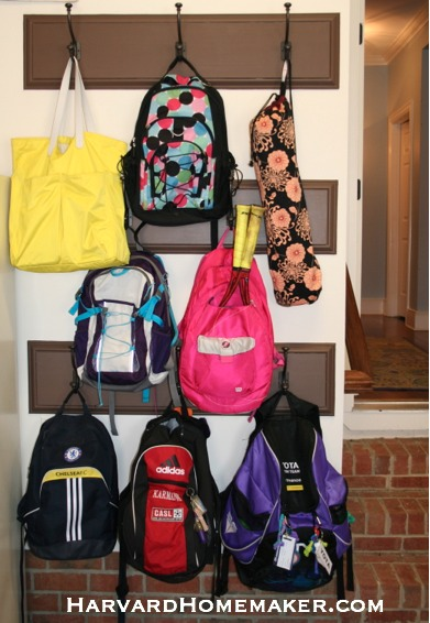 Add a Wall of Sturdy Hooks to Store Sports Gear in Your Garage - Harvard Homemaker