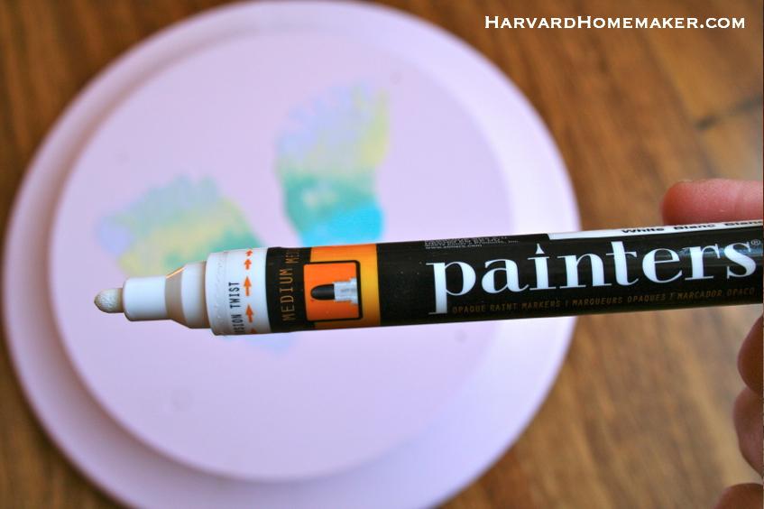 Butterfly Footprints_Paint Pen