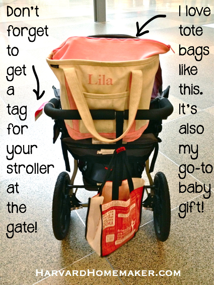 Flying with Baby_Fill up your stroller