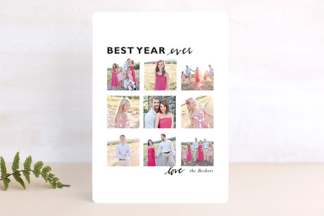 Holiday Ideas_BEST YEAR EVER_Minted