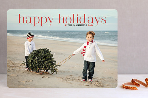 Holiday ideas_sled on beach_Minted