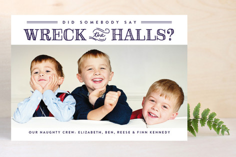 Holiday ideas_wreck the halls_Minted