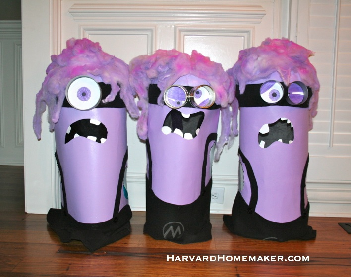Crazy Purple Minions_Finished Products!